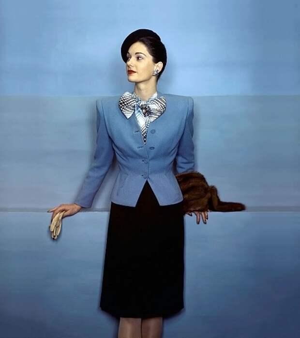 Мода 1940-х годов в подборке  красивых фотографий