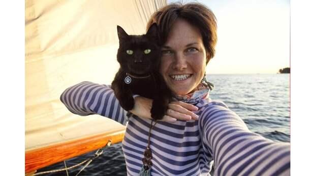 В новосибирском яхт-клубе живет кот-моряк