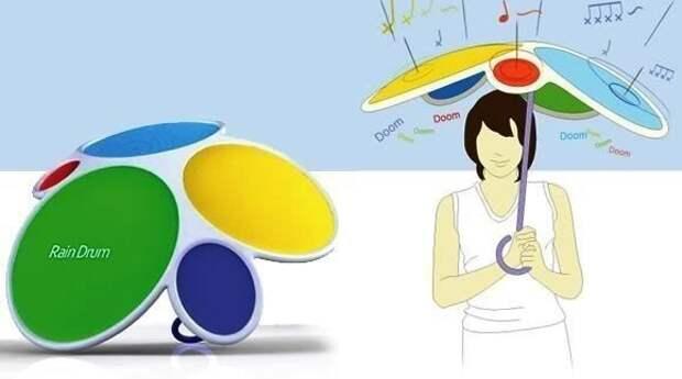 Концепт музыкального зонта