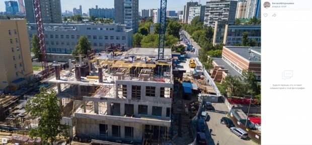 Фото дня: строительство нового корпуса Боткинской