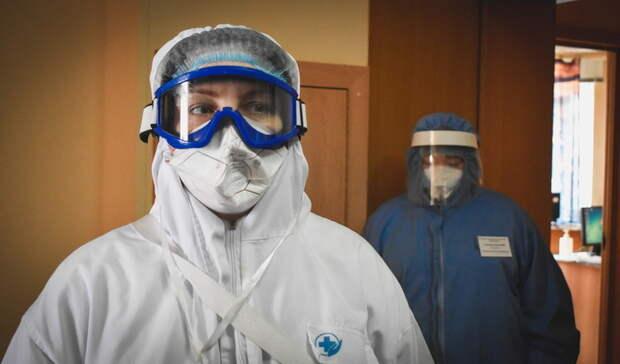 Засутки почти 400 омичей заболели COVID-19