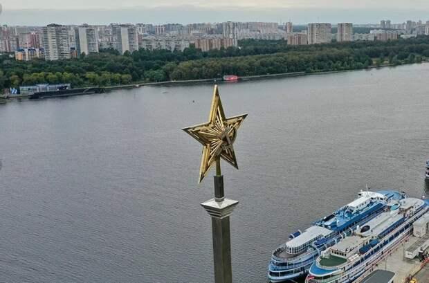 Вид с набережной в парке «Северное Тушино» попал в подборку лучших видов Москвы