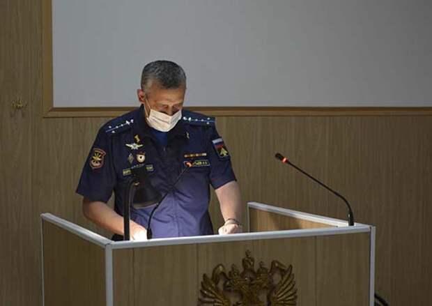 В Саратовской области прошли занятия по безопасности дорожного движения с военнослужащими дальней авиации