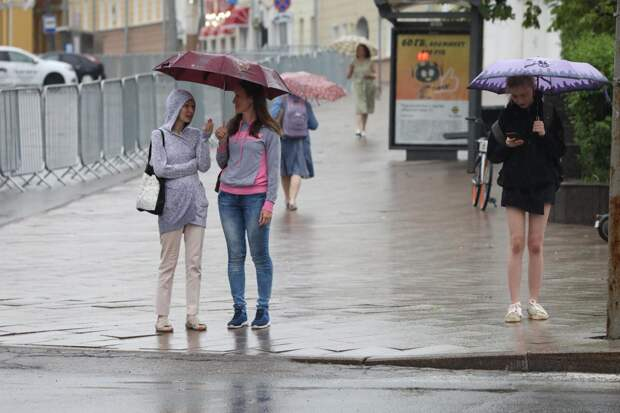 Затяжные дожди накрыли Нижегородскую область