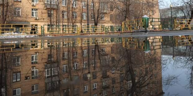 В Староватутинском проезде устранили подтопление