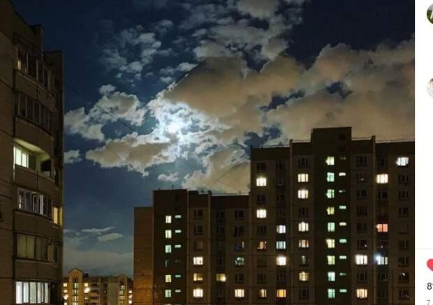Фото дня: московских окон негасимый свет