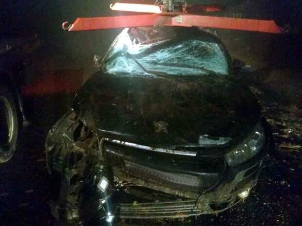 Улетевший в кювет водитель в Уве отказался от медосвидетельствования