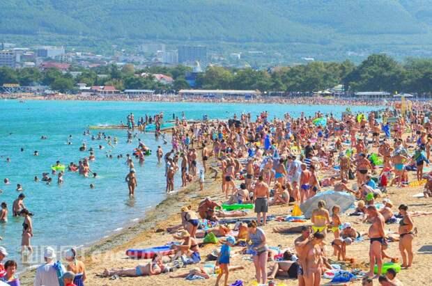 Черноморские курорты перегружены туристами