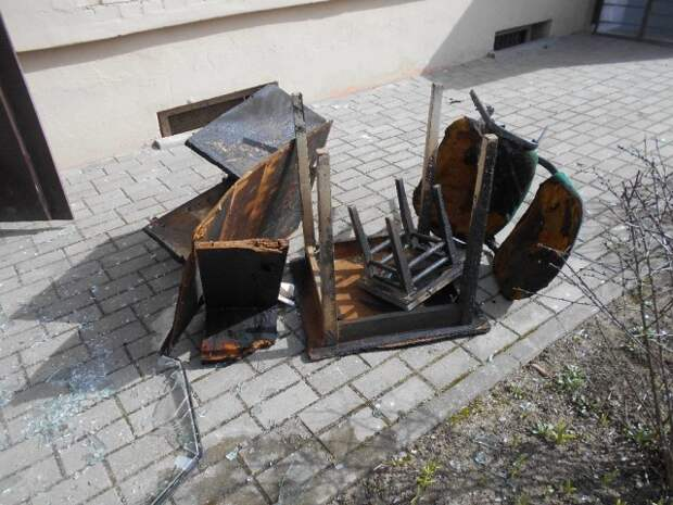 В Бобруйске на Горького горела квартира.