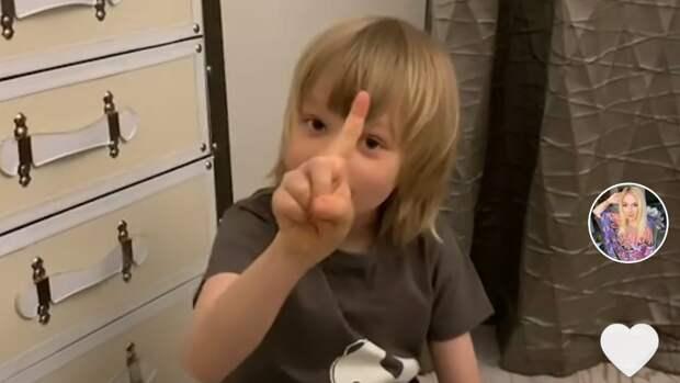«Только заденьги!» Рудковская и7-летний сын Плющенко придумали сюжет для «Ералаша» исняли его навидео