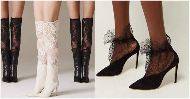 Кружевные туфли и не только- женственность и изящество в каждом шаге