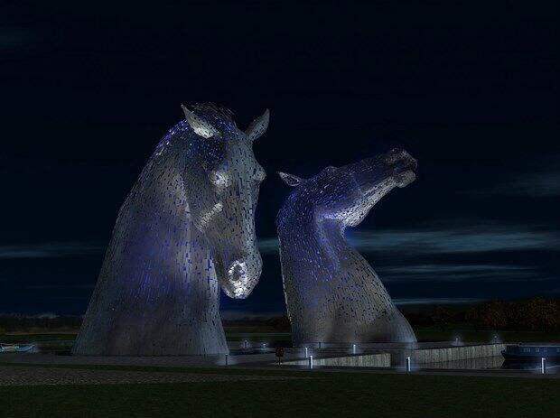 """Шотландские кони-оборотни """"Келпи"""""""