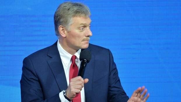 Песков заявил, что место проведения переговоров Путина и Байдена еще не определили