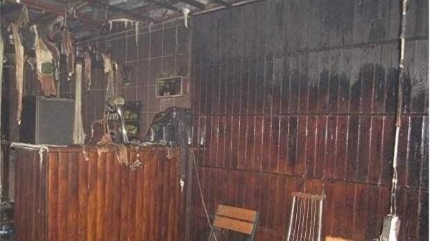 Недовольный обслуживанием украинец сжег кафе в Киеве