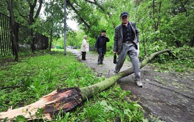 В пяти регионах России устраняют последствия урагана