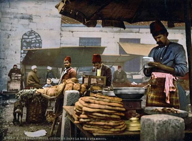 Цветные открытки Константинополя 14