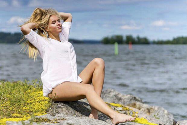 Русская красотка стала Мисс Финляндия и покорила телевидение