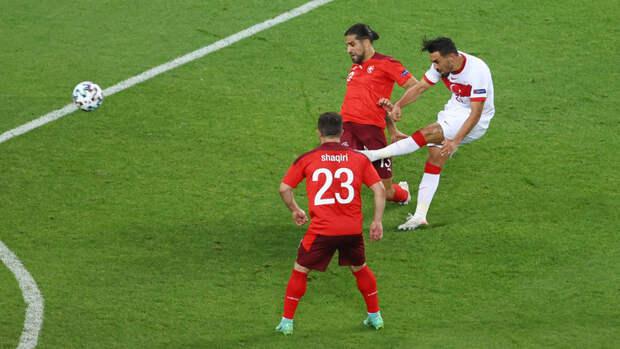 Швейцария— Турция: Кахветжи забил первый гол турков натурнире