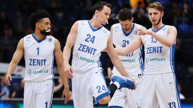 «Зенит» победил «Парму» в первом матче четвертьфинала плей-офф Единой лиги ВТБ