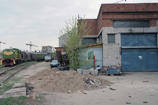 Московский автосервис «Автолюкс», где в 1998 году прятали тела жертв преступных группировок  Фото: Олег Булдаков / ТАСС