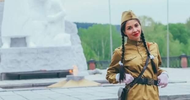 Российскую фитнес-модель затравили занеоднозначную фотосессию вчесть Дня Победы