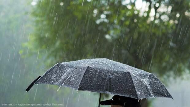 Спасатели выпустили второе за сутки метеопредупреждение о ливне в Рязанской области