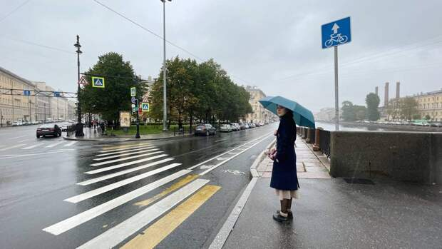 Жителей Петербурга 18 октября ожидает облачная с прояснениями погода