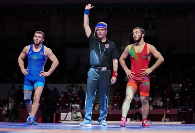 Исраил Касумов – чемпион Европы по вольной борьбе