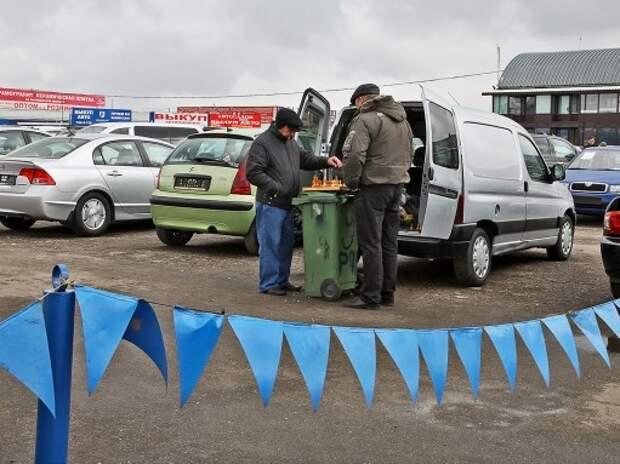 Рынок подержанных автомобилей в России также проседает