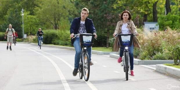 Велопрокат в Головинском дарит бесплатный час езды 22 сентября