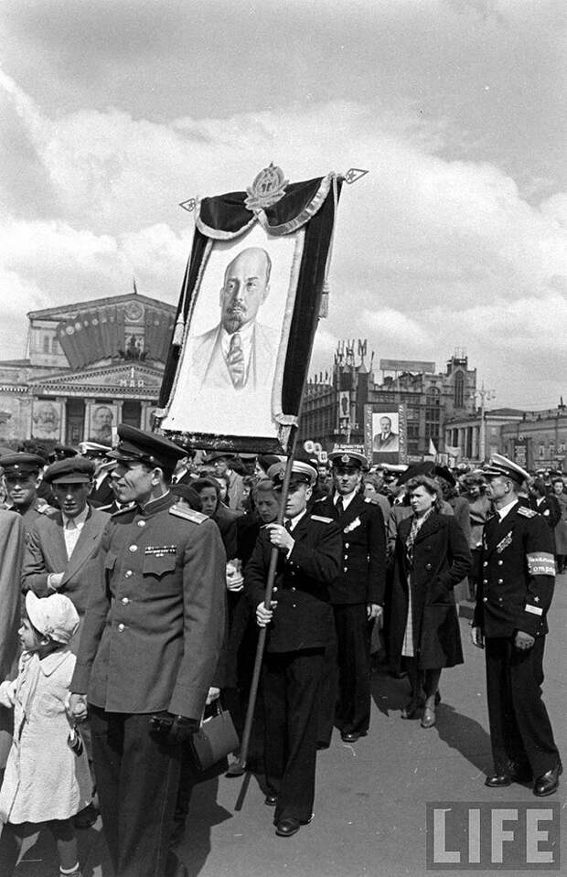 Москва 1947 года глазами американца