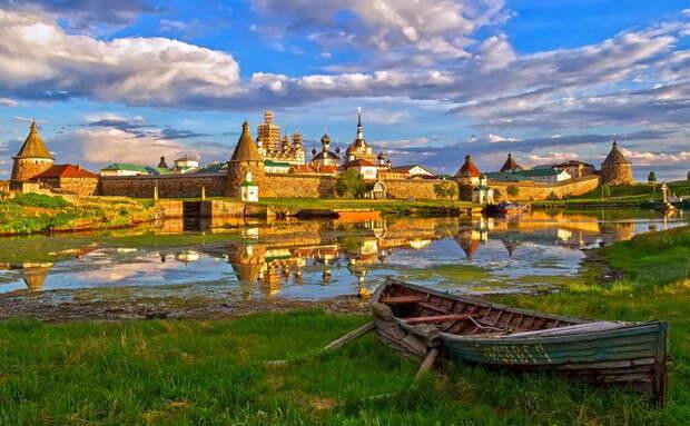 Поразительные русские островные крепости