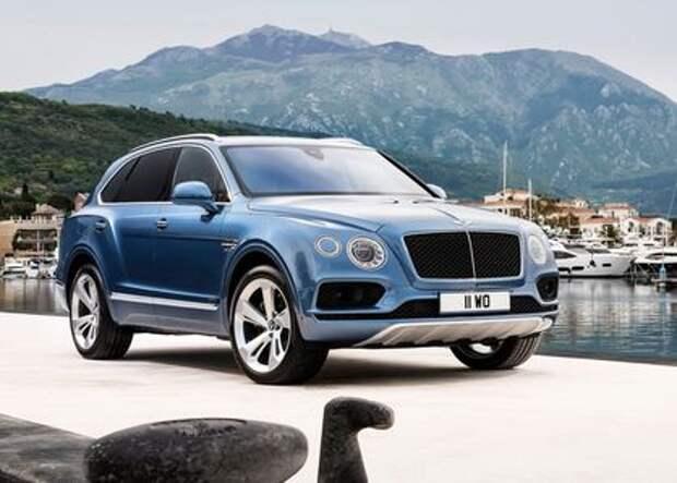 Bentayga Diesel: солярка, Bentley, наша эра