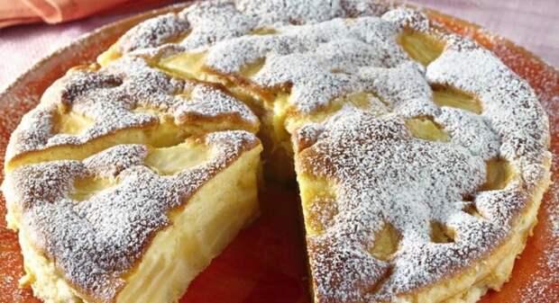 Итальянский нежный пирог с яблоками и устойчивой корочкой