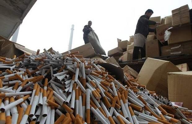 В Краснодарском крае исследовали долю рынка контрафактных сигарет