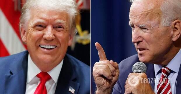 Байден потребовал отставки Трампа из-за коронавируса в США   Мир   OBOZREVATEL