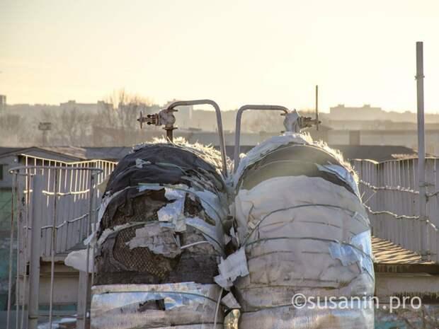 В Ижевске 140 зданий остались без тепла из-за повреждения теплосети
