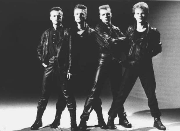 Группа *Технология*, начало 1990-х   Фото: tehnologia.info