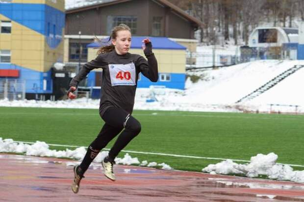 Сахалинские легкоатлеты приняли участие в первых за 2021 год летних соревнованиях