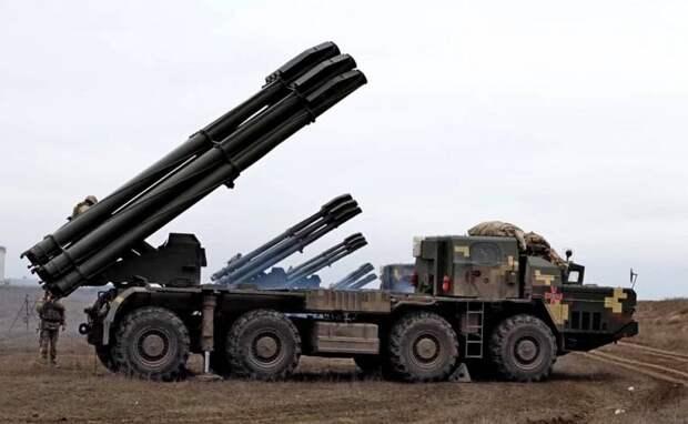 ВСУ задействовали «Смерчи» на границе с Крымом