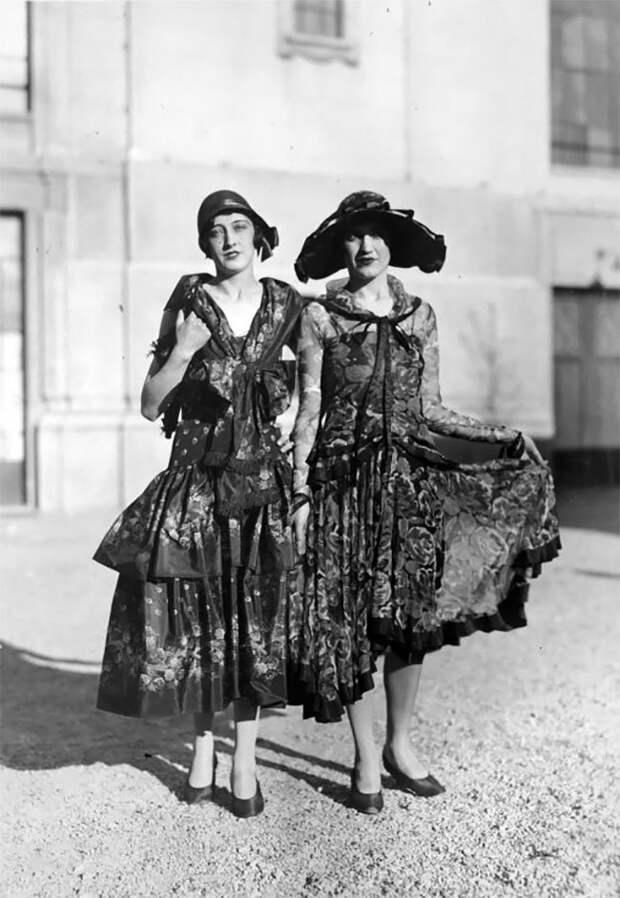 Милан, Италия, 1929 год Стиль, винтаж, двадцатые, женщина, мода, прошлое, улица, фотография