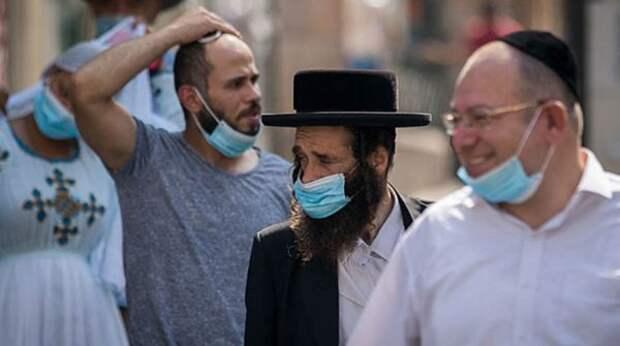 ВИзраиле отменен масочный режим наулицах