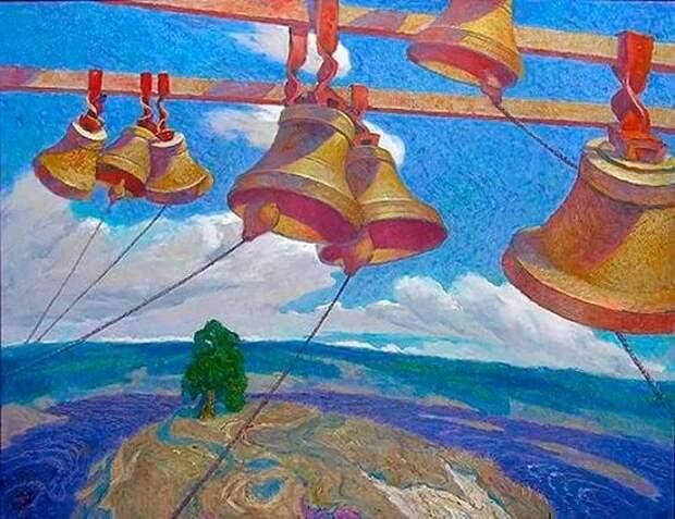 Вечерний звон колоколов... Борис Орлов