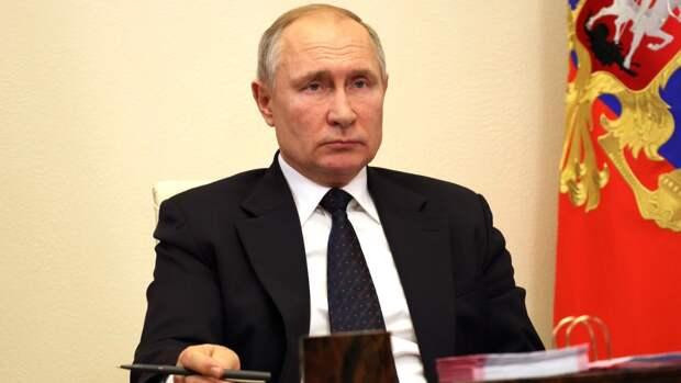Послание Путина будут транслировать на уличных экранах по всей стране