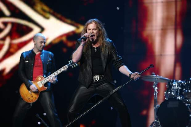 Металлисты, которые выступали на Евровидении