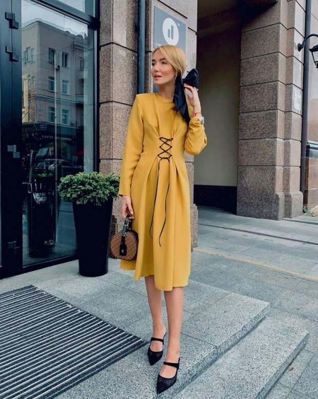 Новый способ приталить платье