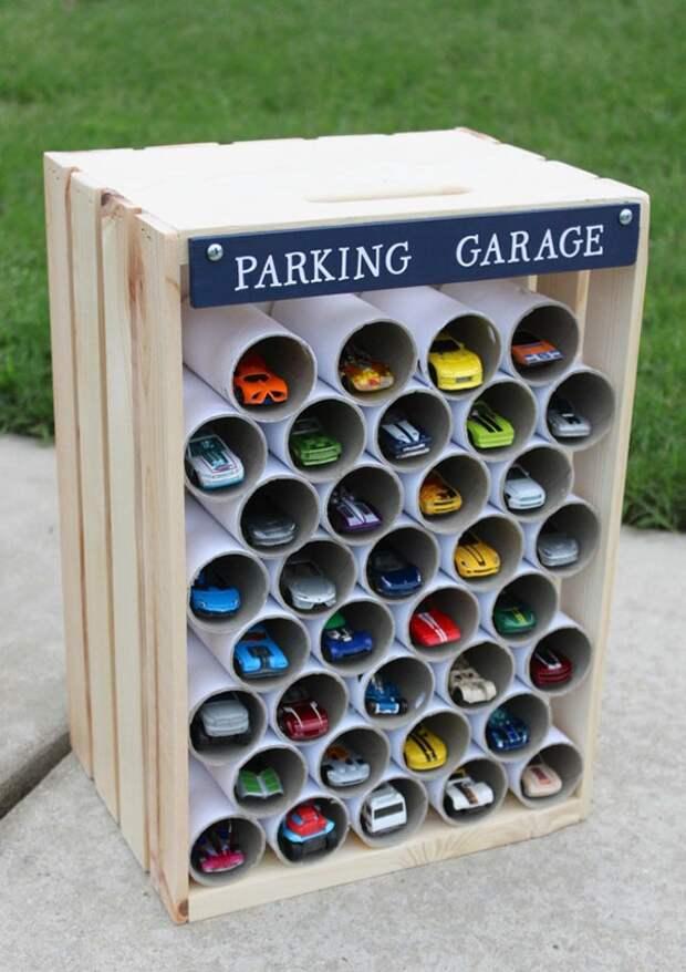Каждому авто - по гаражу!