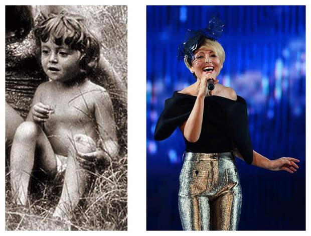 Звёзды кино и эстрады в детстве и сейчас
