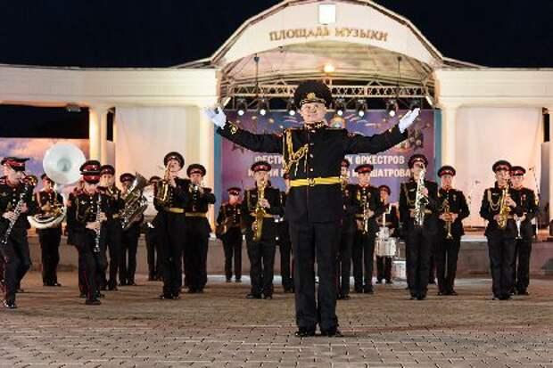 В Тамбове прошёл гала-концерт Международного фестиваля духовых оркестров