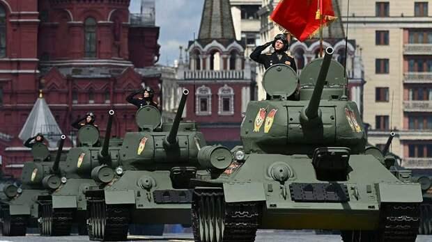 На Красной площади начался парад Победы: видео